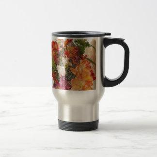 Flowery Springtime Bouquet of Freesias! Stainless Steel Travel Mug