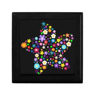 Flowery Star Gift Box