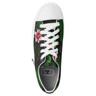Flowery with a twist sneakers