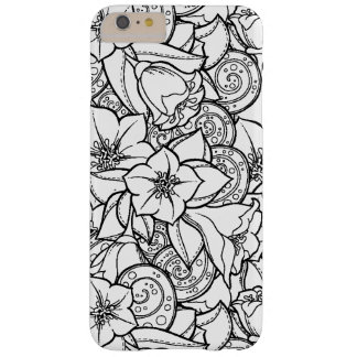 Flowery Zendoodle Barely There iPhone 6 Plus Case