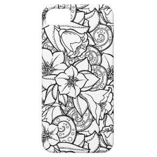 Flowery Zendoodle iPhone 5 Case