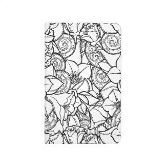 Flowery Zendoodle Journal