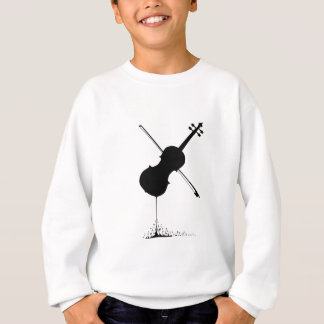Flowing Fiddle Music Sweatshirt