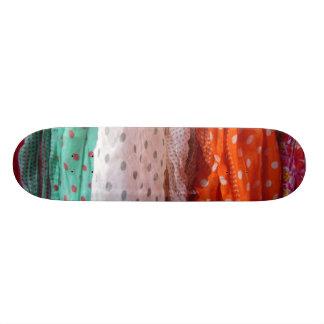 Flowing Ladies Scarves Hanging Skate Decks