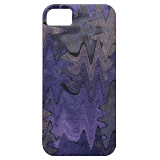 Flowing Purple Design Iphone5 Case Case For The iPhone 5