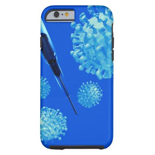 Flu vaccine, conceptual computer artwork. iPhone 6 case