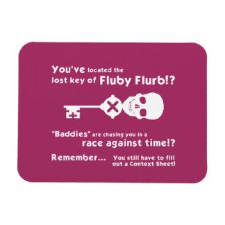 Fluby Flurb! Fridge Magnet