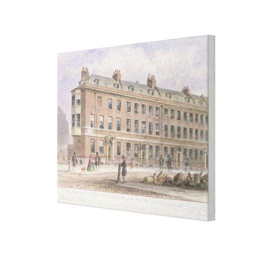 Fludyer Street looking towards Parliament Canvas Print