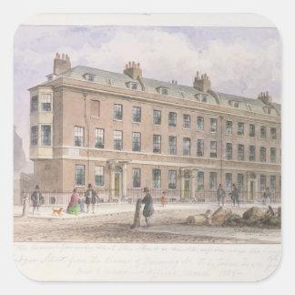 Fludyer Street looking towards Parliament Square Sticker