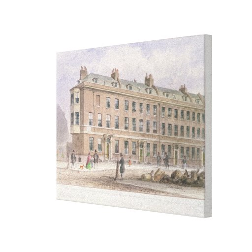 Fludyer Street looking towards Parliament Stretched Canvas Prints