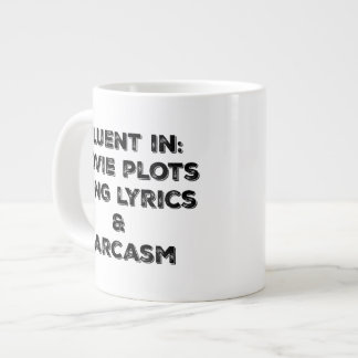 Fluent in the important things! large coffee mug