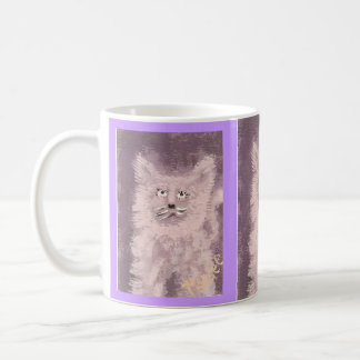 Fluff Cat Basic White Mug