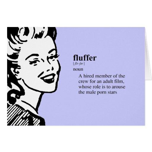 FLUFFER GREETING CARD