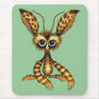 Fluffinator - a cute fluffy creature mousepads
