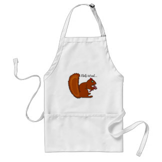 Fluffy but evil... standard apron