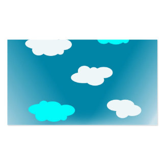 Fluffy Clouds Business Card
