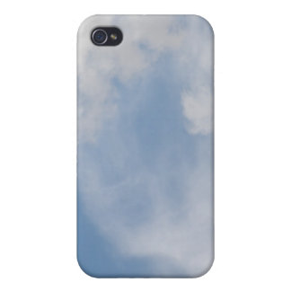 Fluffy Clouds  Case For iPhone 4