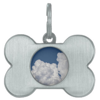Fluffy Clouds in Sky Pet Tag