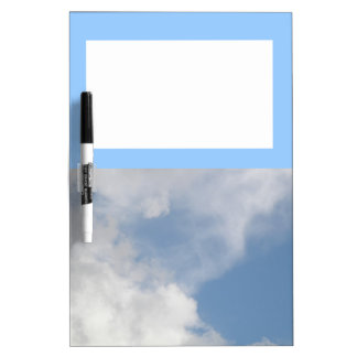 Fluffy Clouds Memo Board