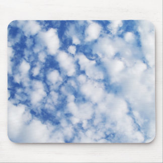 Fluffy Clouds Mouse Pad
