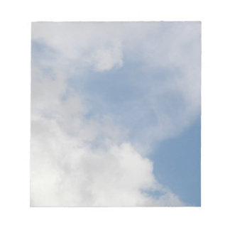 Fluffy Clouds Notepad