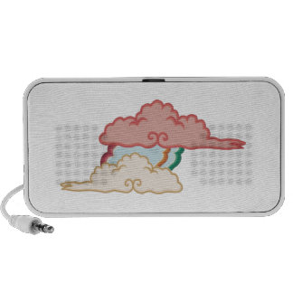 Fluffy Clouds iPod Speakers