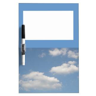 Fluffy Cumulus Clouds Memo Board