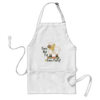 Fluffy Ewes Standard Apron