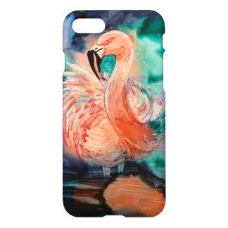 Fluffy Flamingo iPhone 7 Case