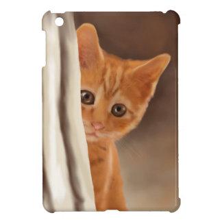 Fluffy Ginger Kitten Cover For The iPad Mini