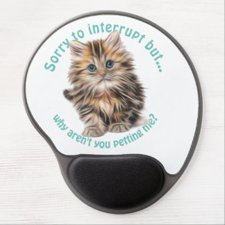 Fluffy Kitty Gel Mouse Pad