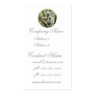 Fluffy Koala Business Cards