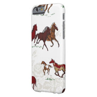 Fluffy Layers Horse Print Phone Case