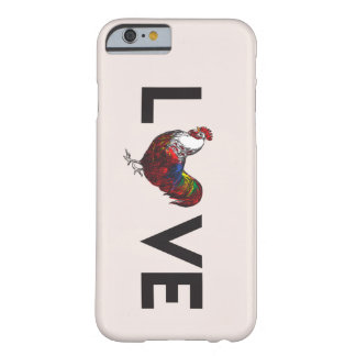 Fluffy Layers Love Rooster Phone Case