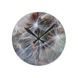 Fluffy (Parachute) Dandelion Seeds Clocks