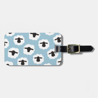 Fluffy Sheep Fiber Lover {Any Color} Luggage Tag