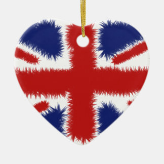 Fluffy UK Christmas Ornament