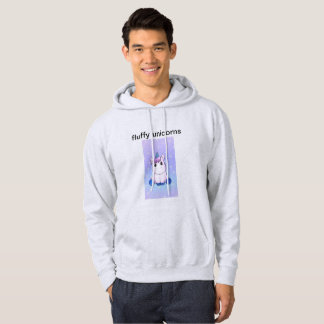 Fluffy Unicorn Sweatshirt Unisex
