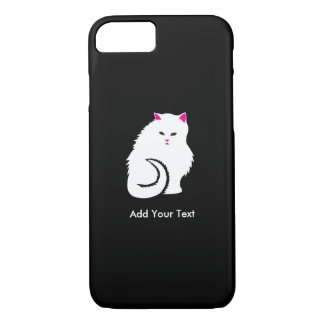 Fluffy White Cat iPhone 7 Case