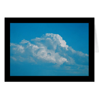 Fluffy White Clouds- Song of Sol. 7:6 Greet. Card