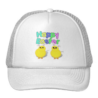 Fluffy Yellow Easter Chicks - Happy Easter! Trucker Hat