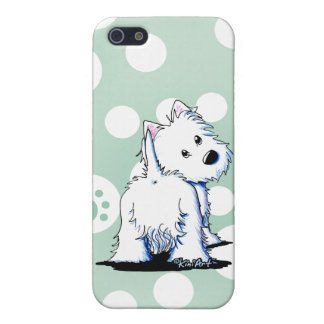 Fluffybutt Westie iPhone 5 Case