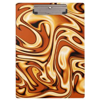 fluid art 01 golden clipboards