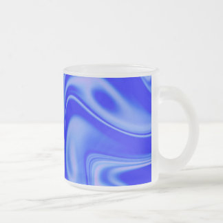 fluid art 01 inky blue mugs