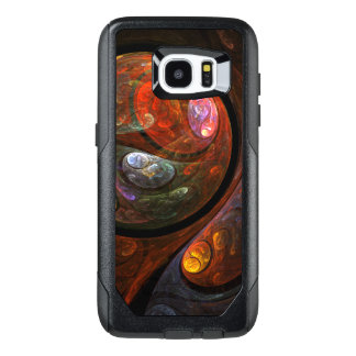 Fluid Connection Abstract Art OtterBox Samsung Galaxy S7 Edge Case