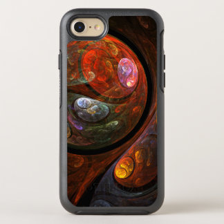 Fluid Connection Abstract Art OtterBox Symmetry iPhone 8/7 Case