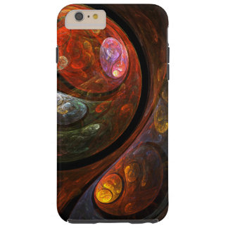 Fluid Connection Abstract Art Tough iPhone 6 Plus Case