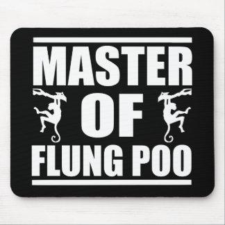 Flung Poo Master Mouse Mat