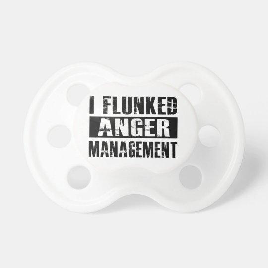Flunked anger management dummy