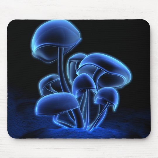Fluorescence Mousepad